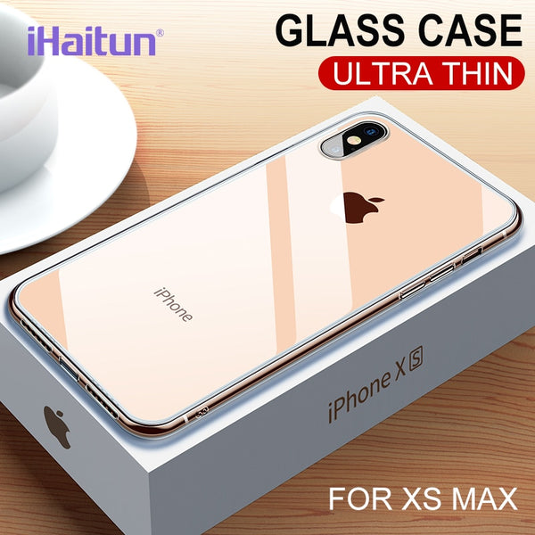 Luxury Ultra Thin Slim Transparent Case For iPhone XS MAX XR X 8 7 PLUS