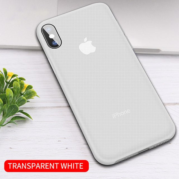 Luxury Silicone Ultra Thin Slim Transparent Case For iPhone XS MAX XR X