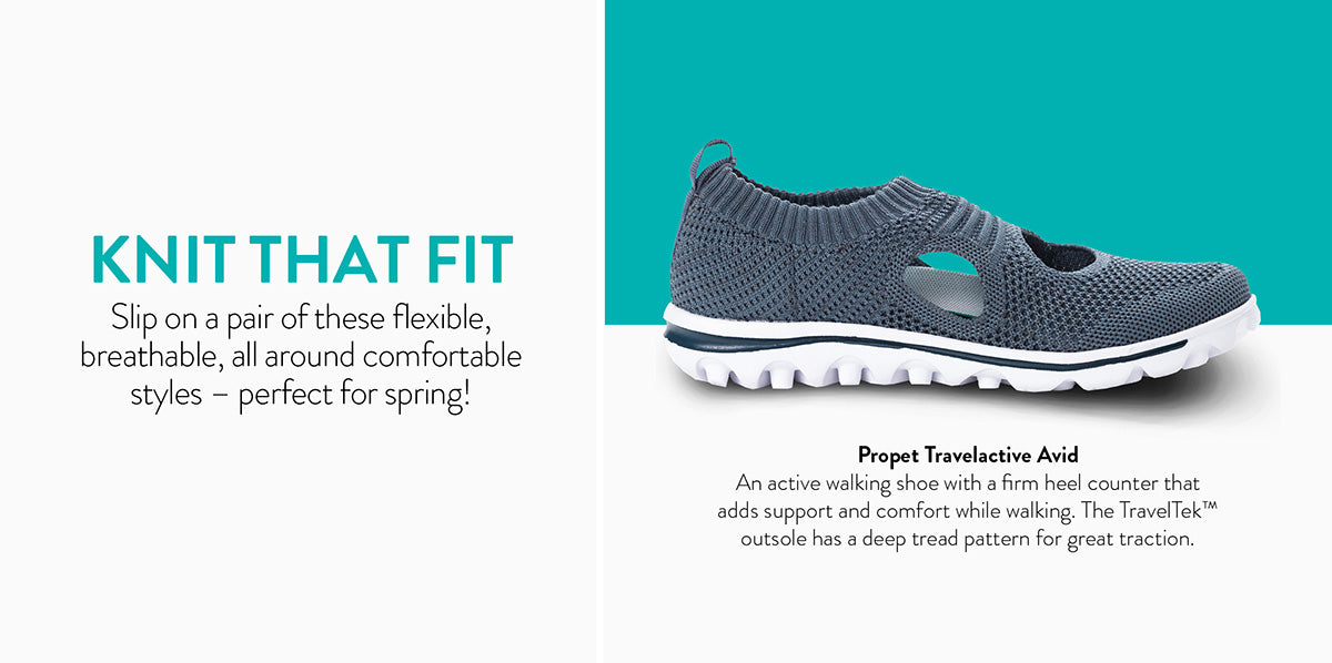 Knit That Fit all around comfortable styles - perfect for spring