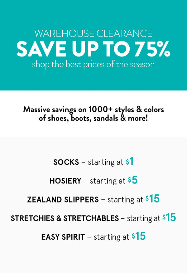 Savings on 1000+ styles & colors of shoes, boots, sandals & more