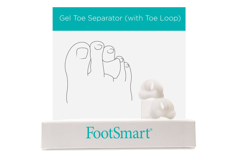 Gel Bunion Toe Spreader With Loop