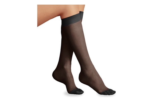 Sheer Moderate Support Calf Knee High