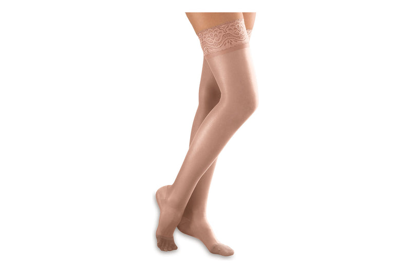 Sheer Moderate Support Thigh High