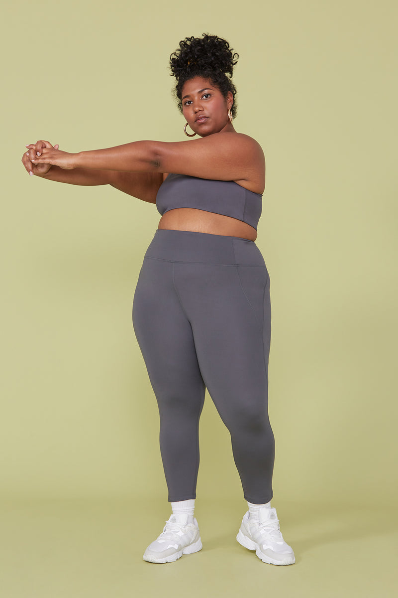 Compressive High-Rise Legging Smoke | Girlfriend Collective