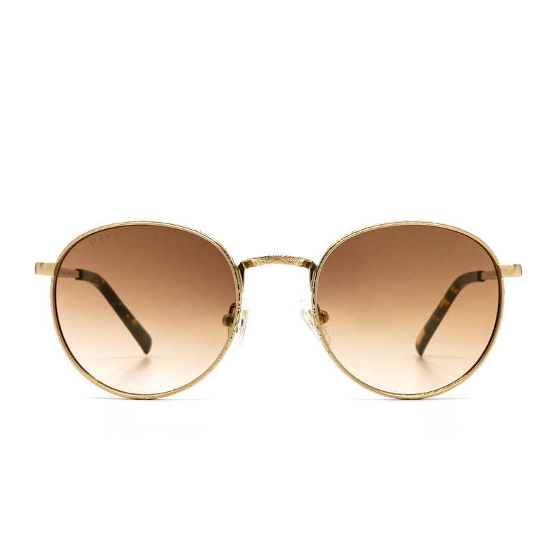 BROOKS Gold + Brown | DIFF Eyewear