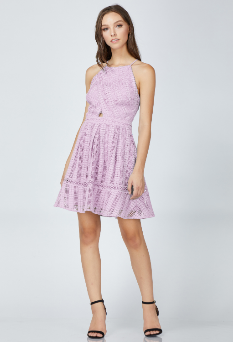 Kyra Woven Fit and Flare Dress