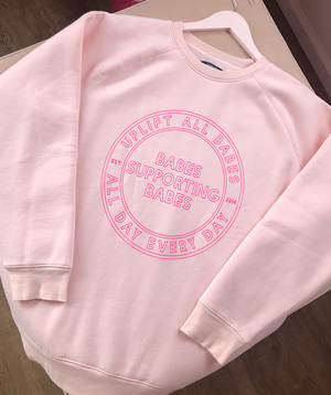 """Uplift Babes"" Big Sister Crew Neck 