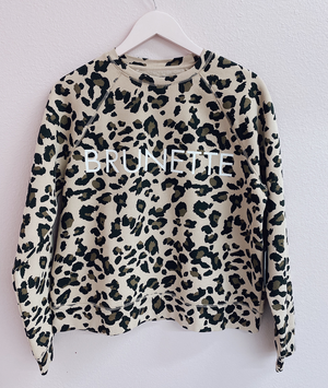 BRUNETTE Leopard Sweatshirt | Brunette The Label