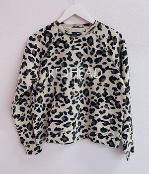 REDHEAD Leopard Sweatshirt | Brunette The Label