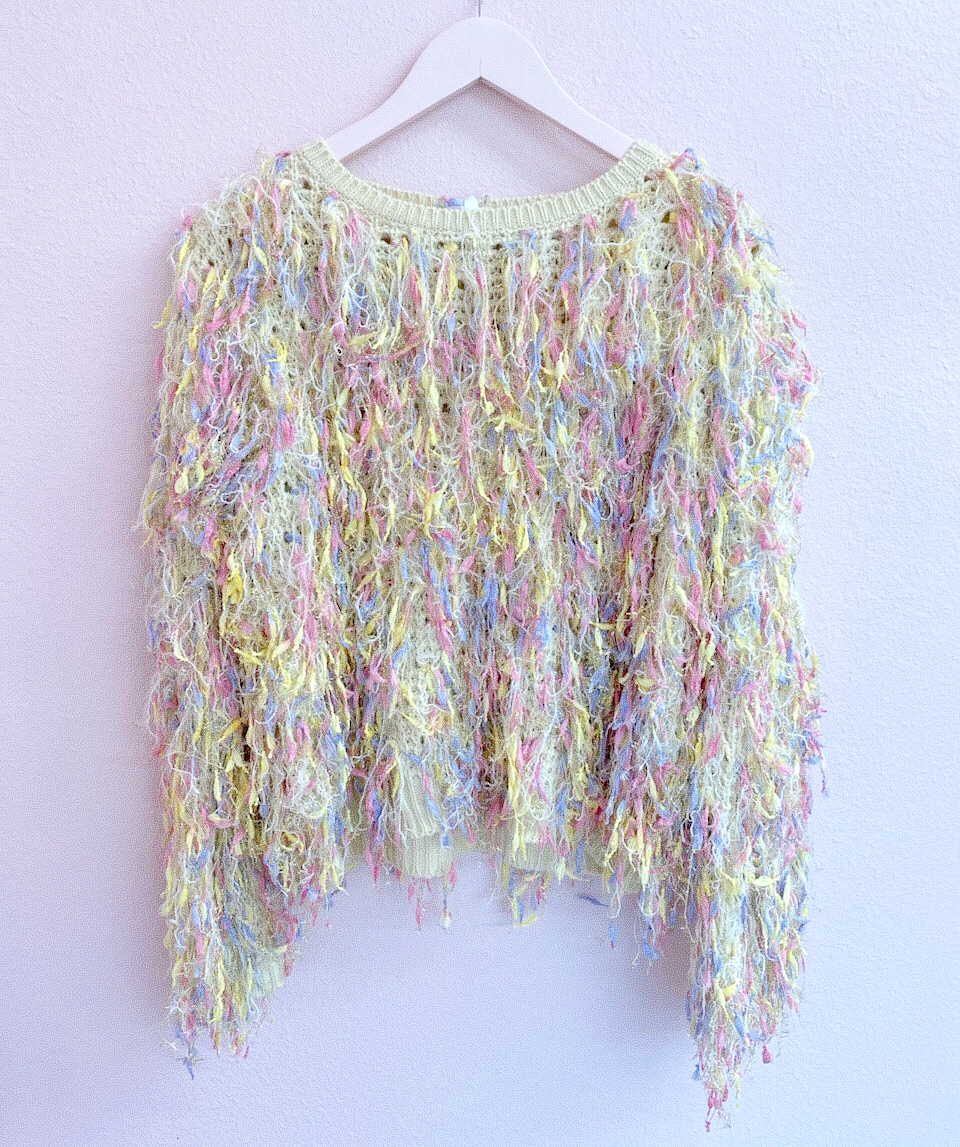 Unicorn Fringe Sweater
