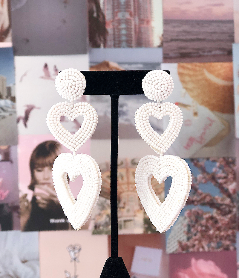 Vierra Heart Earrings