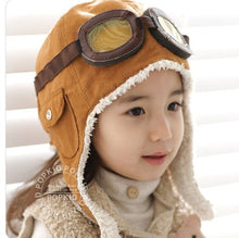 Load image into Gallery viewer, Let's Take Off - Aviator Hat
