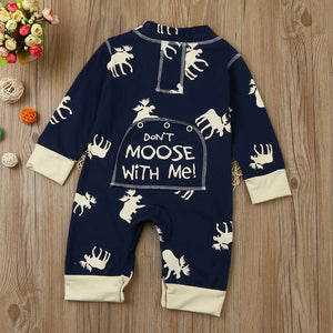Don't Moose with Me - Onesie