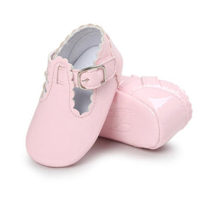 Uptown Girl- Baby Shoes (Pink)