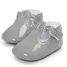 Load image into Gallery viewer, Uptown Girl - Baby Shoes (Grey)