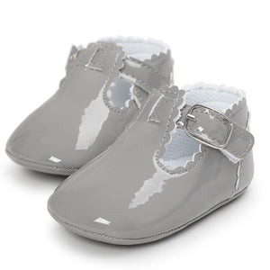 Uptown Girl - Baby Shoes (Grey)
