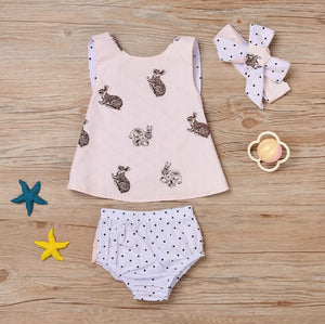 Polka Dots and Stories - Three Piece Set