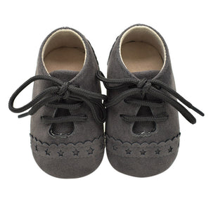 Baby Brogue - Dark Grey
