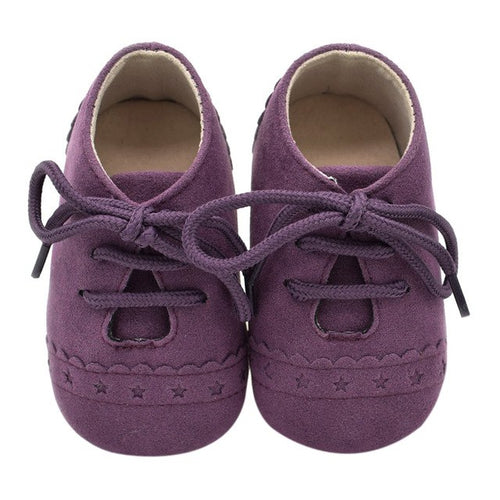 Baby Brogue - Purple