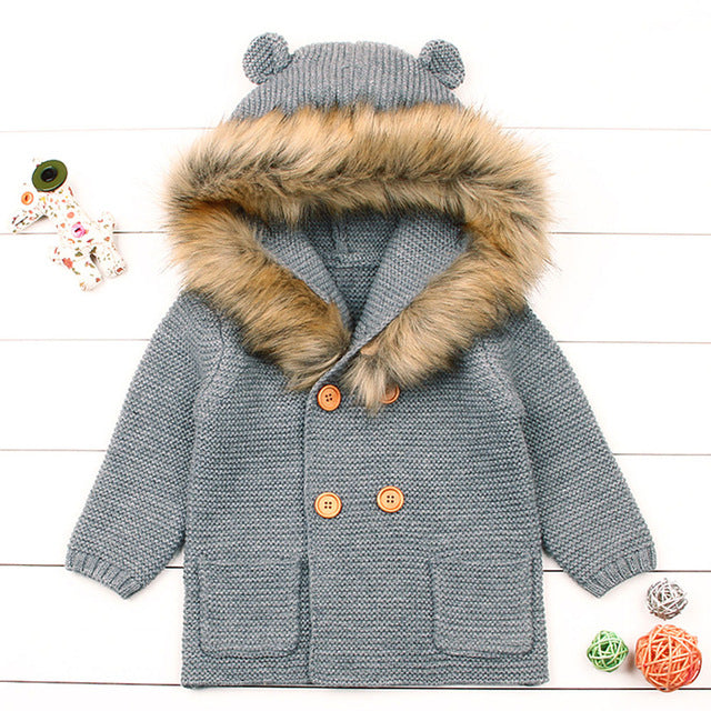 Bear With Me - Baby Jacket
