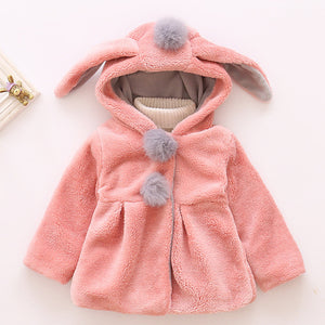 Bunny Girl - Toddler Jacket (Grey or Pink)