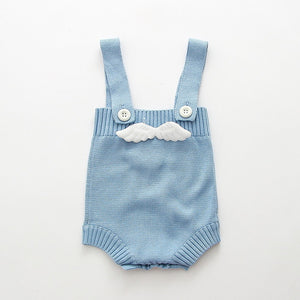 Mario Jumpsuit - Baby Romper (Blue or Pink)