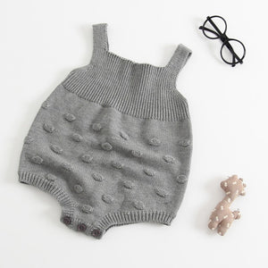 Wobble Wobble - Knitted Baby Grow