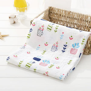 Wrap me in Love - Organic Cotton Muslin Baby Blankets