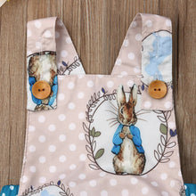 Load image into Gallery viewer, Easter Bunny Romper