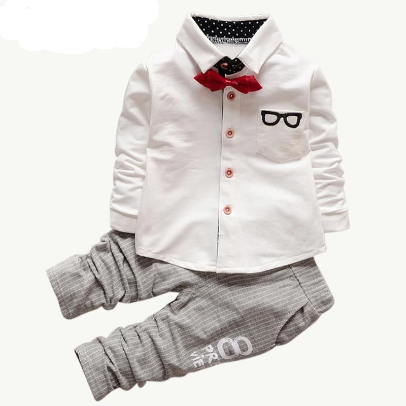 The Ryan - Bow Tie, Shirt and Pants Set