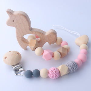 Pony Rattle and Matching Dummy Clip