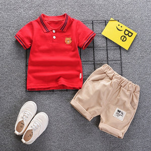 Jeffrey - Shirt and Shorts Set
