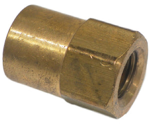 "Big A Service Line 3-126220 Brass Pipe, Female Reducing Coupling 1/8"" x 1/8"""