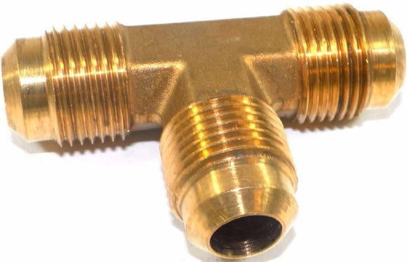Big A Service Line 3-144900 Brass Pipe, Tee Fitting 5/8