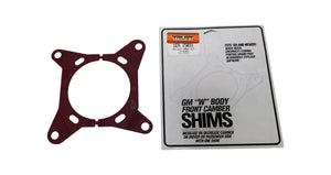 "Trust 15031 (1pc) GM ""W"" Body Front Camber Shims 1/4 deg"