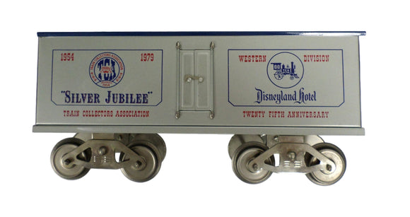 McCoy 1000-79 Silver Jubilee National Convention TCA STD 1979 Disneyland Box car