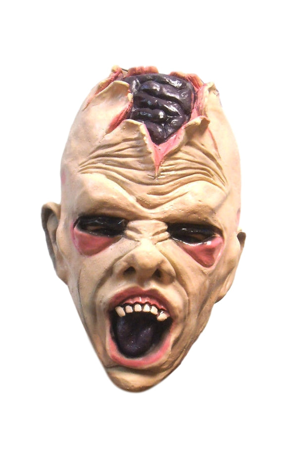Halloween Open Skull Killer Zombie Crying Baby Creepy Monster Latex Mask 50192