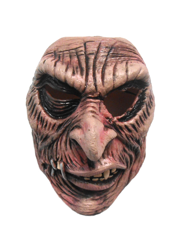 Halloween Evil Zombie Cannibal Killer Stapled Lips Cosplay Latex Mask