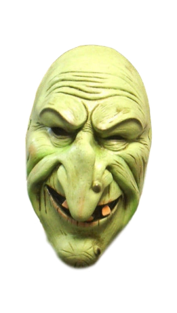 Halloween Hob Goblin Brother Deformed Green Mask Cosplay Latex Mask 1/2 Coverage