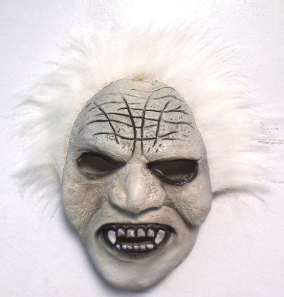 Halloween Crazy Old Killer Vampire Scary Theater Cosplay Latex Mask Small