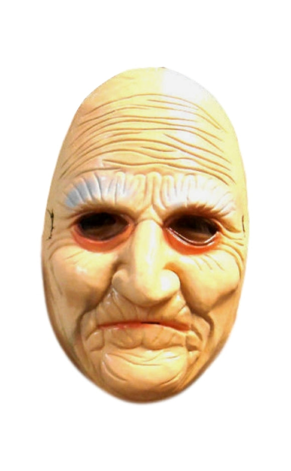 Halloween Granny Old Woman Dress Up Cosplay For Children Small Face Latex Mask