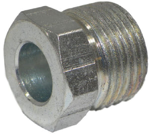 "Big A Service Line 3-121067 Steel Long Inverted Nut 3/8"" x 7/16"