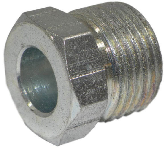 Big A Service Line 3-121067 Steel Long Inverted Nut 3/8