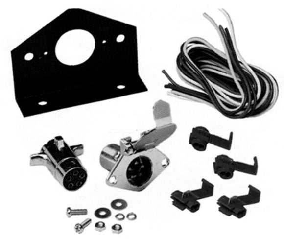Hopkins 48345 5 Pole Round Connector Kit