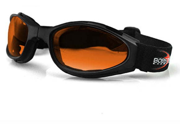 Balboa BCR003 Crossfire Small Folding Goggle - Anti-Fog Amber Lens