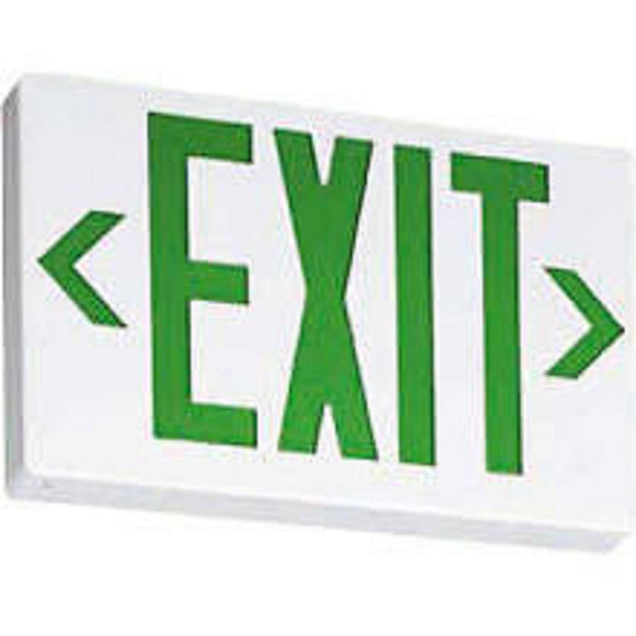 Lithonia Lighting 210LCM EXG LED EL M6 Thermoplastic LED Exit Signs Brand New!