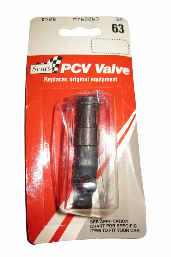 Sears PCV Valve MY60263 60263 PA-65 Replaces Original Equip .125