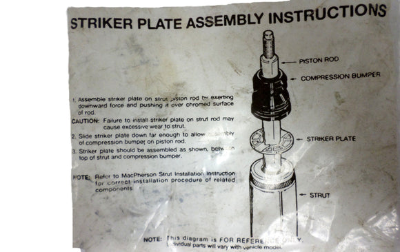 141498 Striker Plate Assembly Brand New
