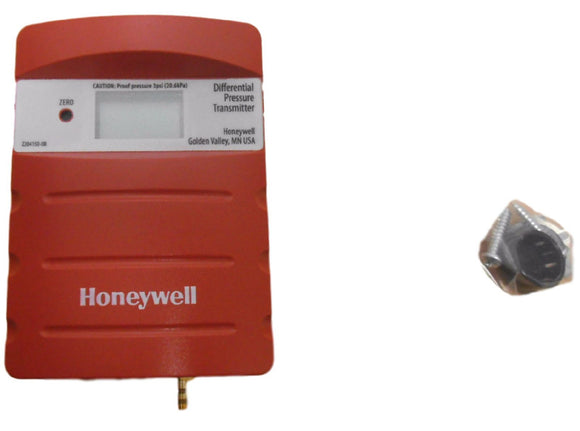Honeywell P7640A1000 Differential Dry Pressure Transducer Panel Mount w/ Display