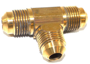 "Big A Service Line 3-144600 Brass Pipe, Tee Fitting Kit 3/8"" x 3/8"" x 3/8"""